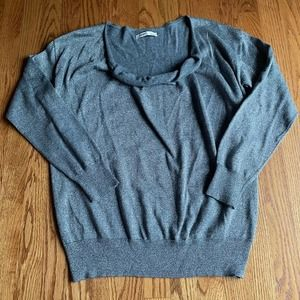 Gray Silver Old Navy Sweater Size Large